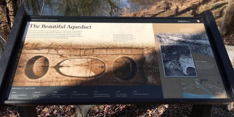 The Beautiful Aqueduct Marker image. Click for full size.