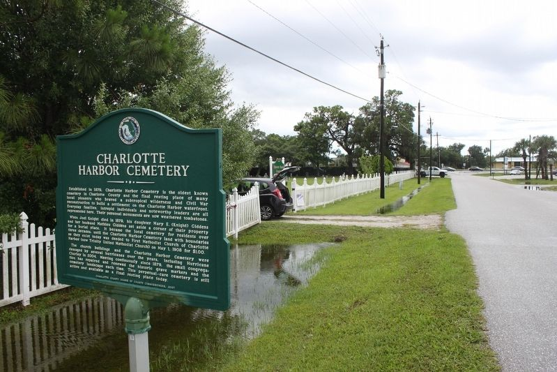 Charlotte Harbor Cemtery Marker image. Click for full size.