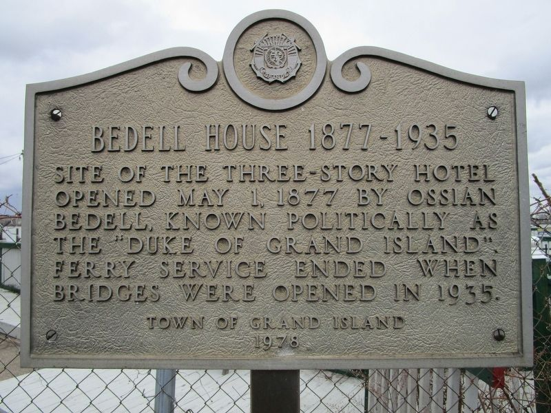 Bedell House 1877 - 1935 Marker image. Click for full size.