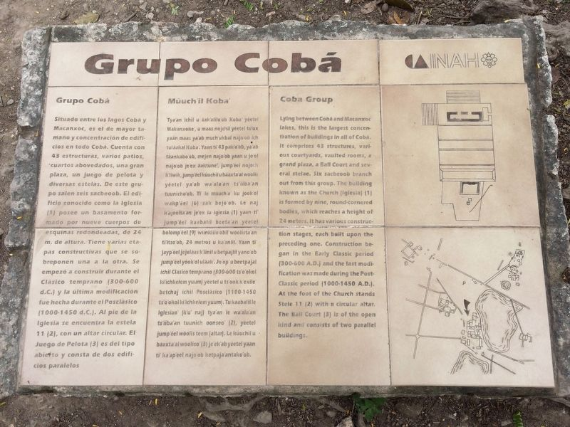 The Coba Group Marker image. Click for full size.