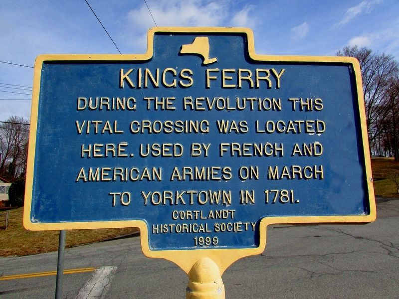 Kings Ferry Marker image. Click for full size.