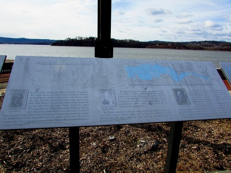 The Story of a River Marker (Center Panel) image. Click for full size.