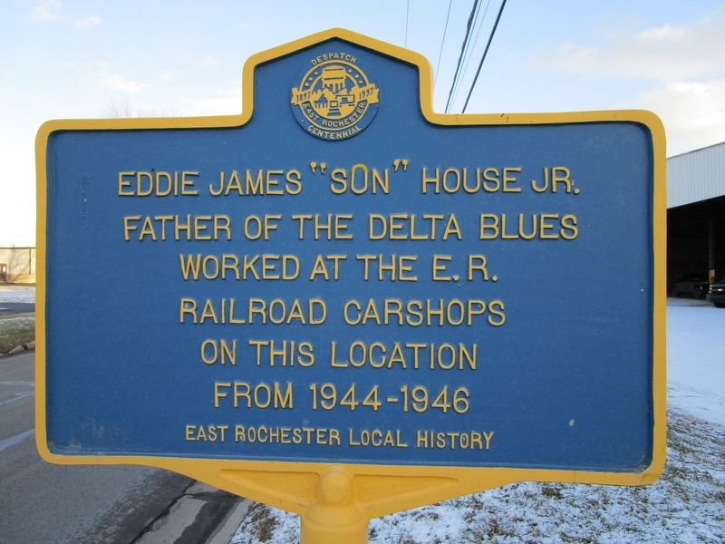 "Eddie James ""Son"" House Jr. Marker image. Click for full size."