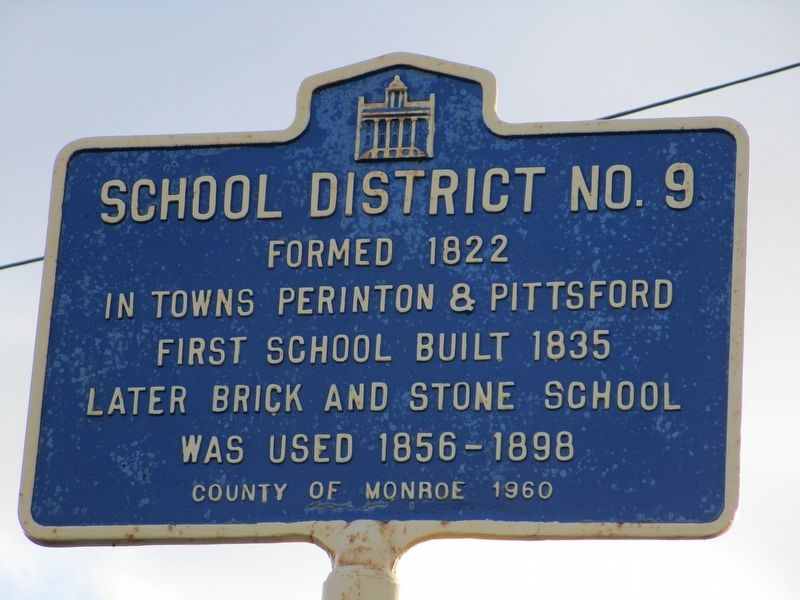 School District No. 9 Marker image. Click for full size.