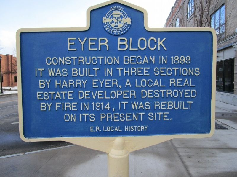 Eyer Block Marker image. Click for full size.
