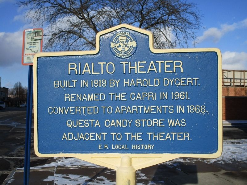 Rialto Theater Marker image. Click for full size.