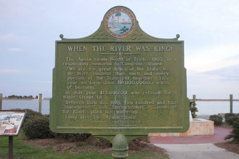 When the River Was King Marker Side 2 image. Click for full size.