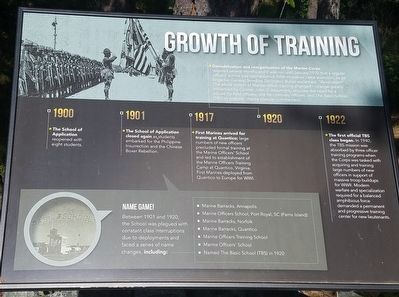 Growth of Training Marker image. Click for full size.