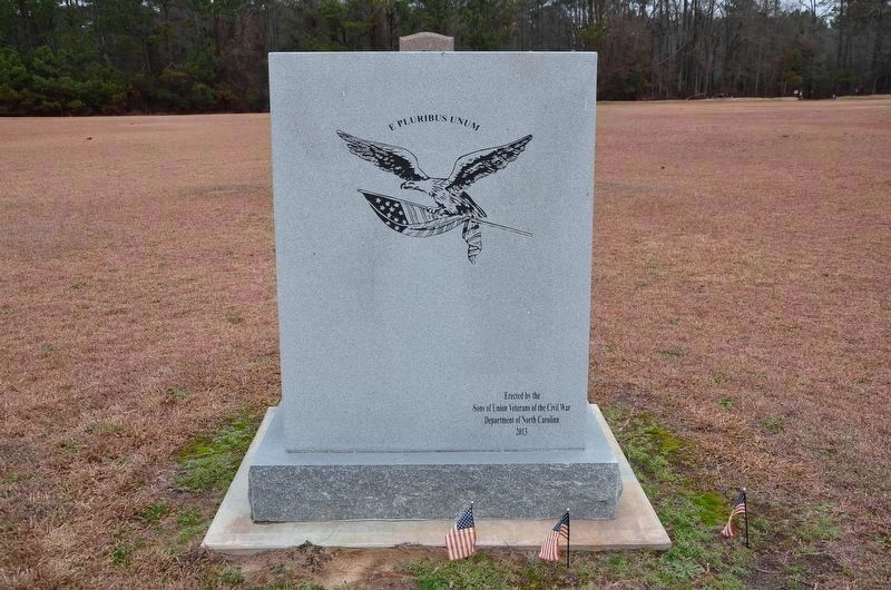 Bentonville Union Soldiers Memorial image. Click for full size.
