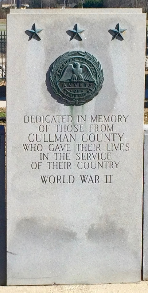 Cullman County WWII Memorial