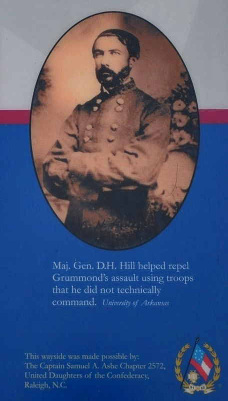 Confederate Major General Daniel Harvey Hill image. Click for full size.