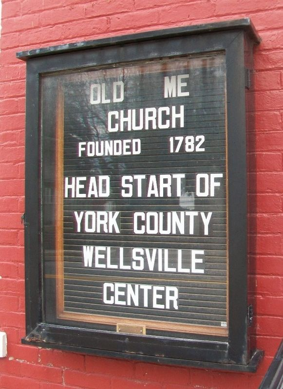 Methodist Episcopal Church Sign image. Click for full size.