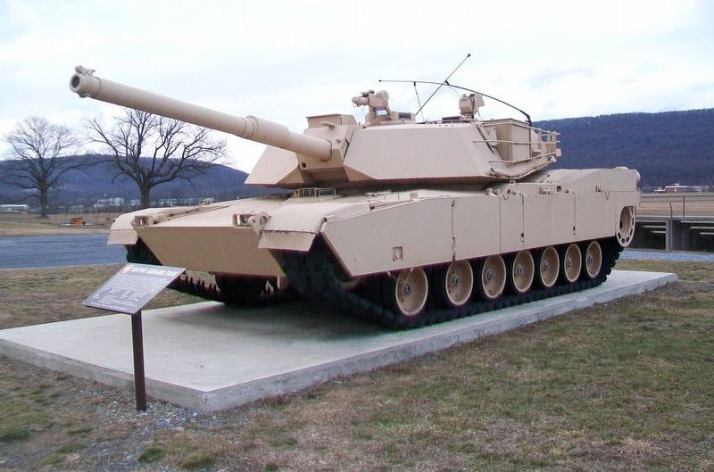 M1/IPM1 Abrams Tank and Marker image. Click for full size.