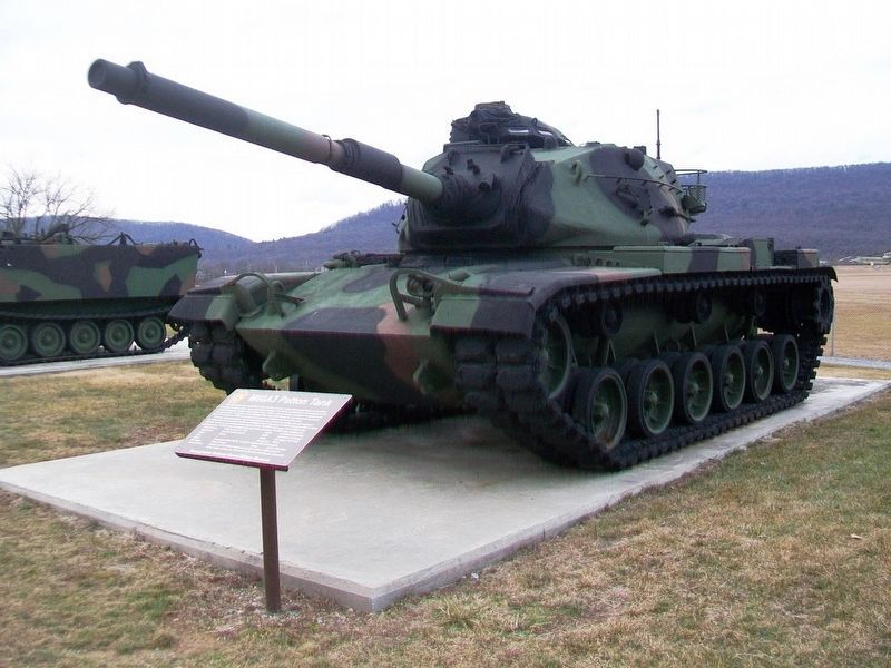 M60A3 Patton Tank and Marker image. Click for full size.