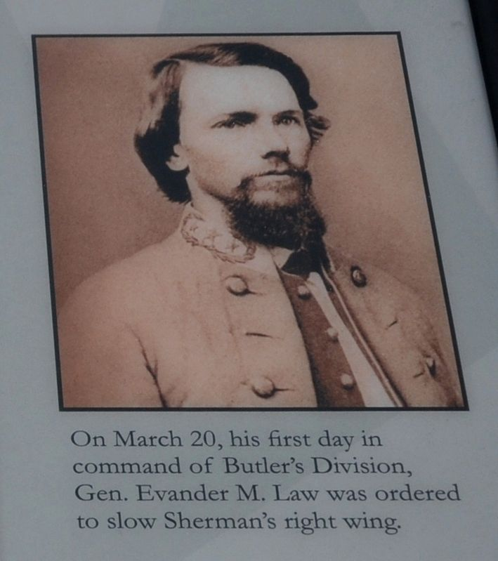 Confederate General Evander M. Law image. Click for full size.