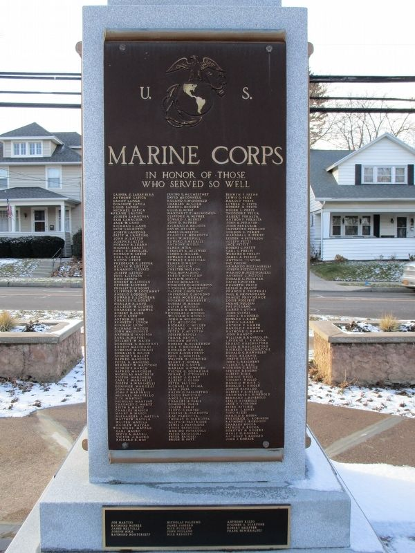 U.S. Marine Corps. In Honor of Those Who Served So Well. image. Click for full size.