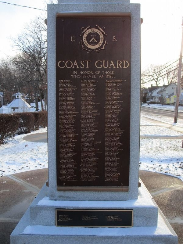 U.S. Coast Guard. In Honor of Those Who Served So Well. image. Click for full size.