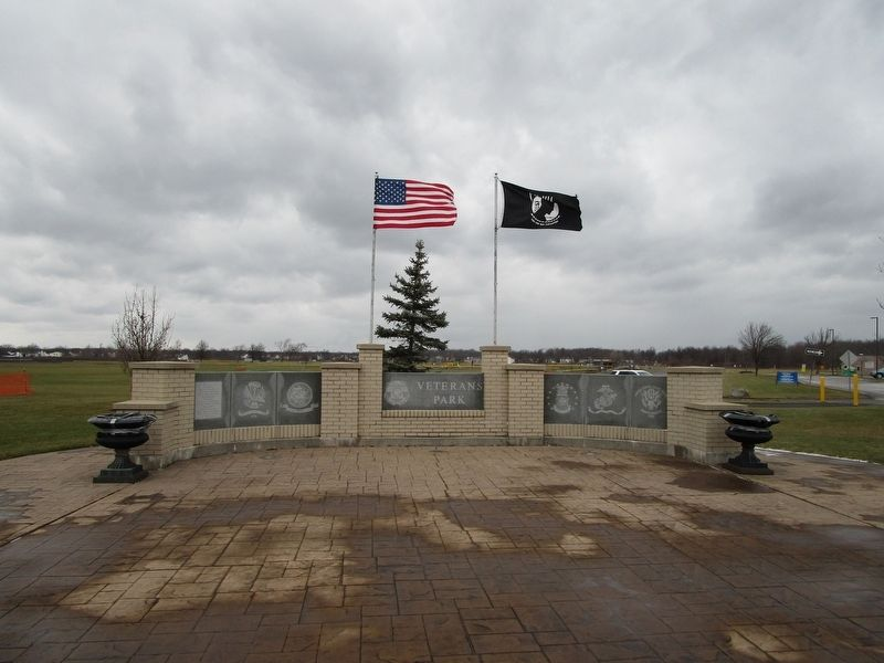 Grand Island Veterans Memorial Wall image. Click for full size.