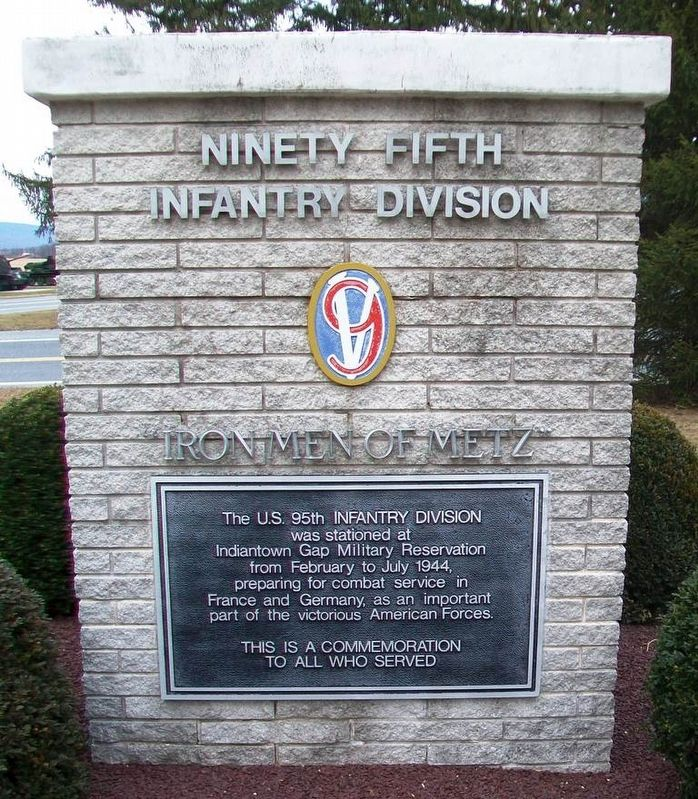 95th Infantry Division Memorial image. Click for full size.