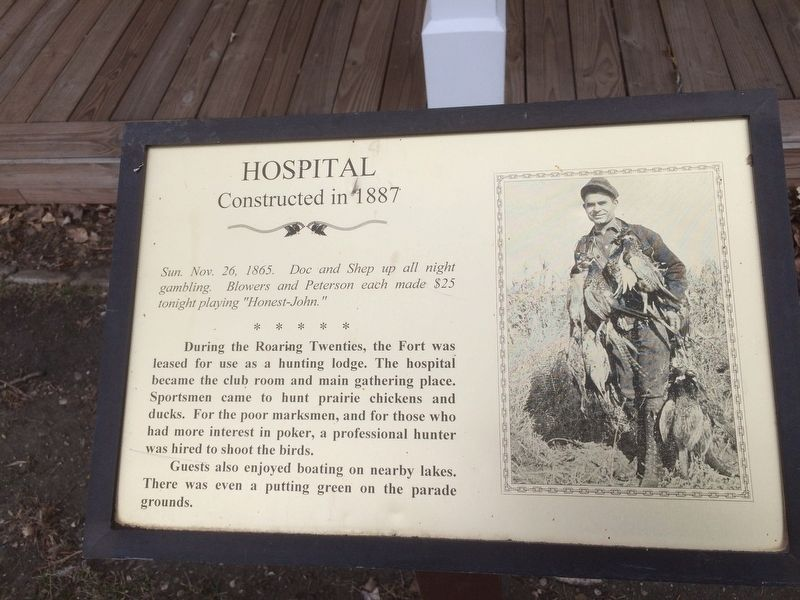 Hospital Marker image. Click for full size.