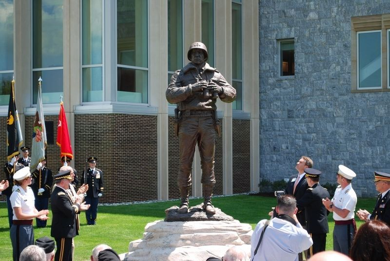 Patton Monument Rededication image. Click for full size.