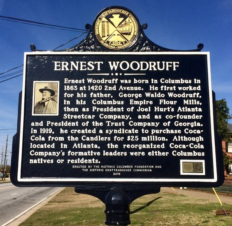 Ernest Woodruff Marker image. Click for full size.