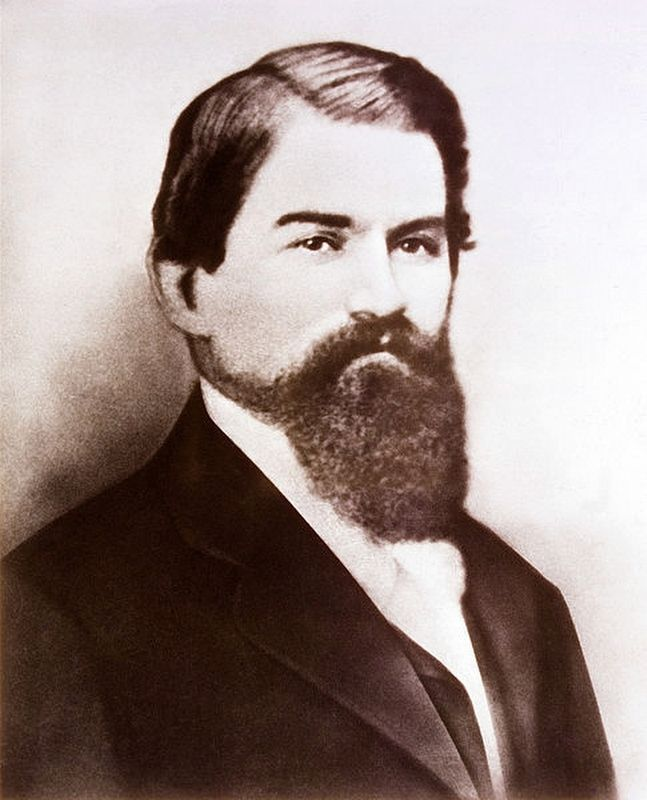 John Stith Pemberton - Founder of Coca-Cola. image. Click for full size.