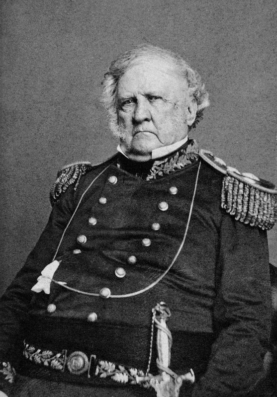 Lieutenant General Winfield Scott image. Click for full size.