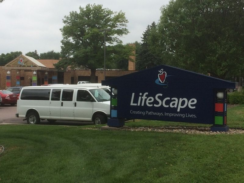 Lifescape Sign image. Click for full size.