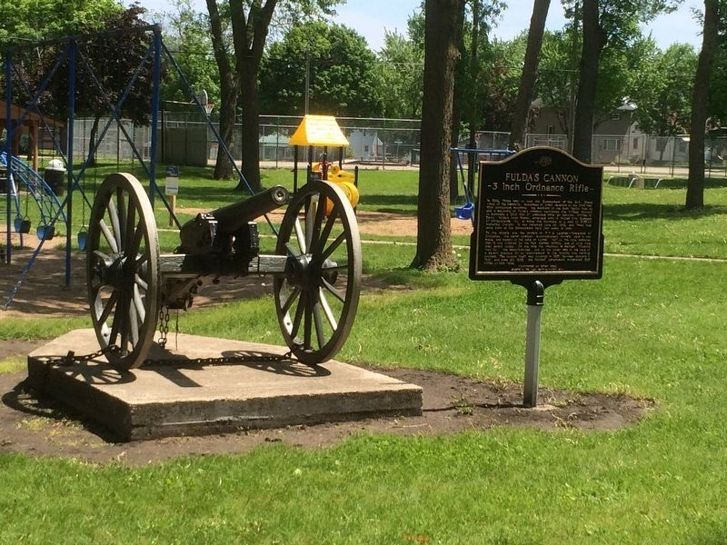 Fulda's Cannon Marker image. Click for full size.