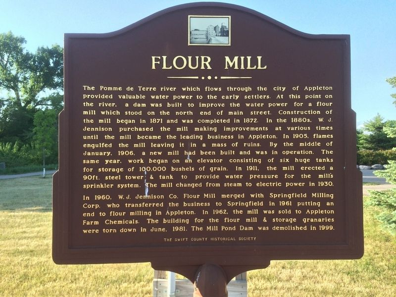 Flour Mill Marker image. Click for full size.