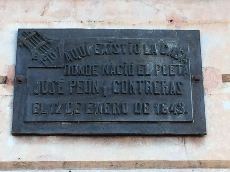 An additional nearby José Peón Contreras Marker image. Click for full size.