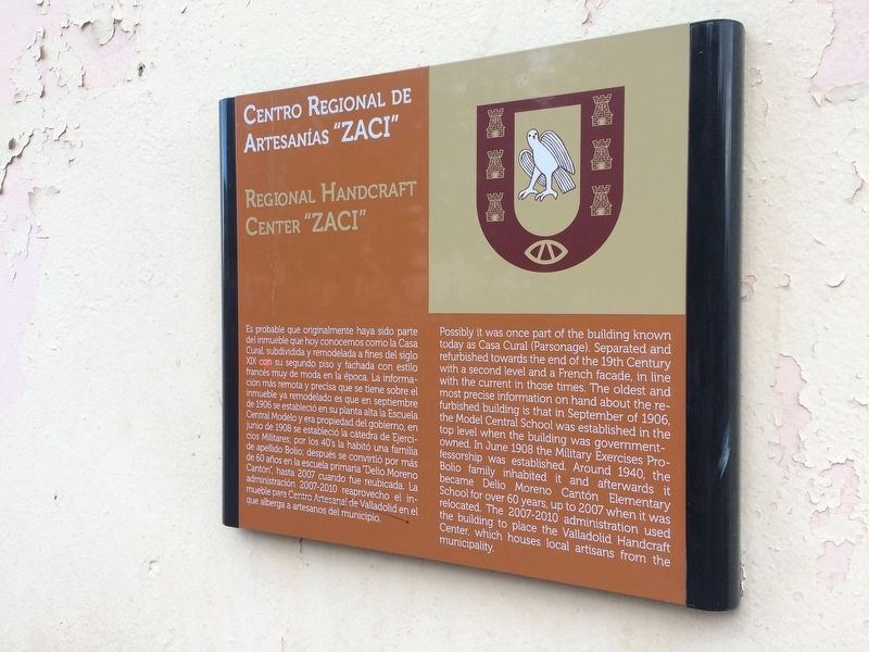 "Regional Artisans' Center ""Zací"" Marker image. Click for full size."