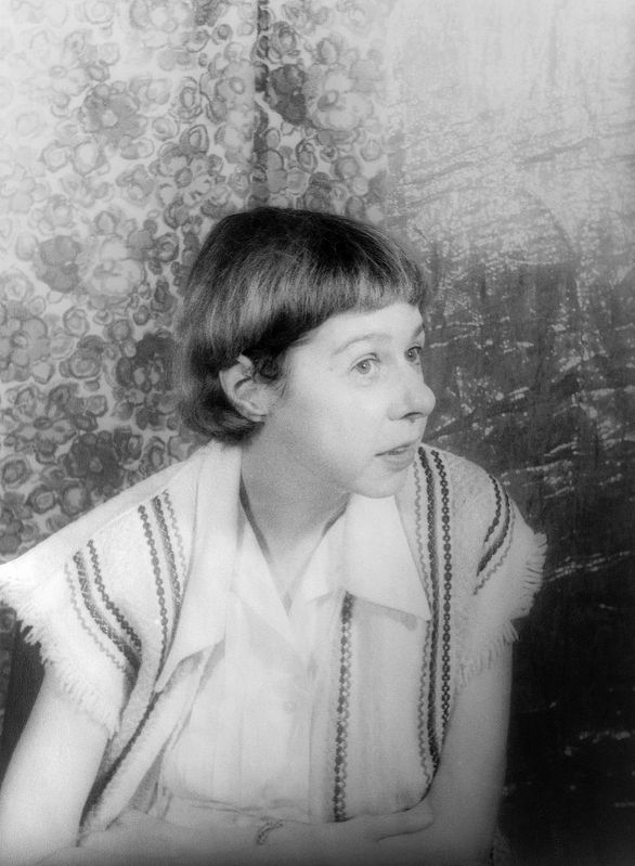 Carson McCullers - born Lula Carson Smith image. Click for full size.