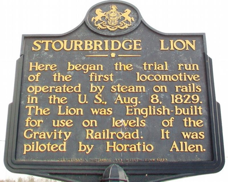 Stourbridge Lion Marker image. Click for full size.