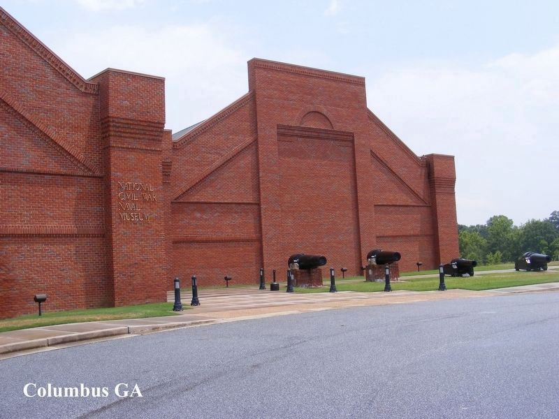 National Civil War Naval Museum Building image. Click for full size.