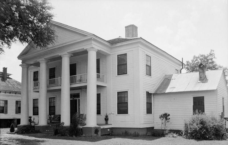 Photo of Wellborn House circa 2011 at its former location. image. Click for full size.