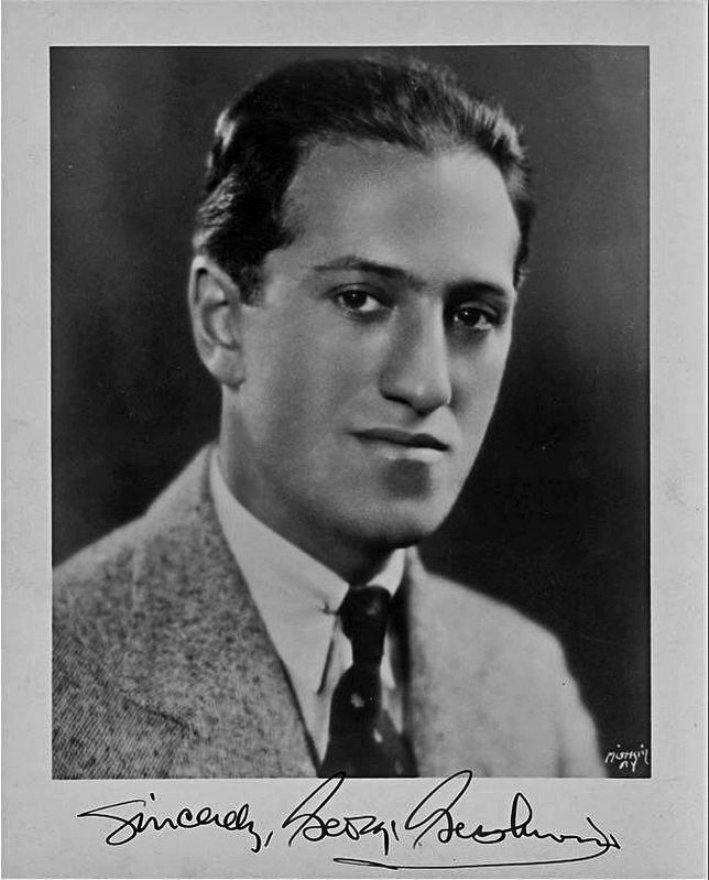 George Gershwin, Composer image. Click for full size.