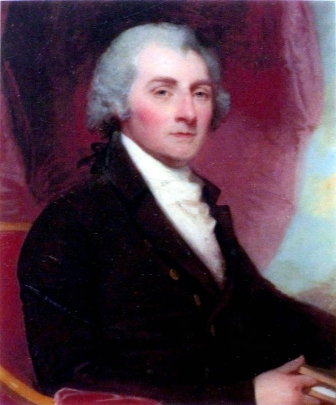 Dr. William Thornton by Gilbert Stuart - National Gallery of Art image. Click for full size.