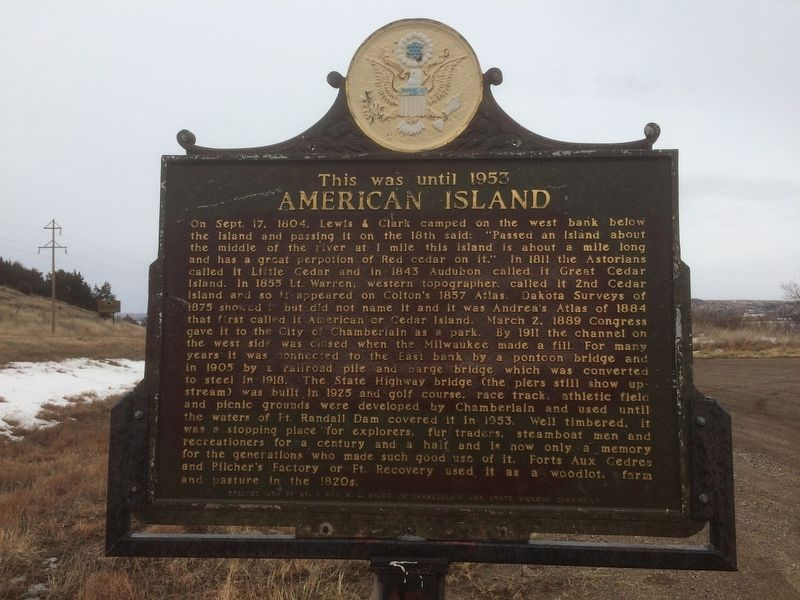 American Island Marker image. Click for full size.