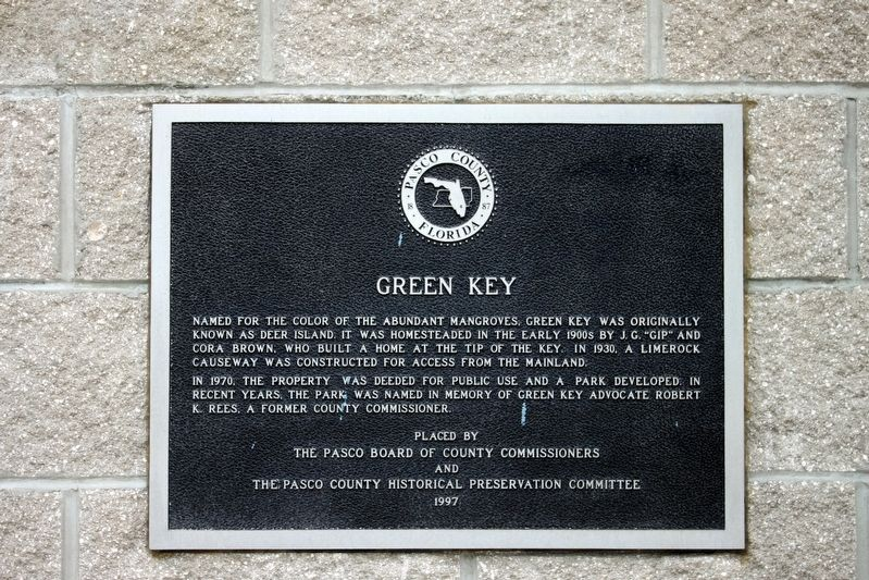 Green Key Marker image. Click for full size.