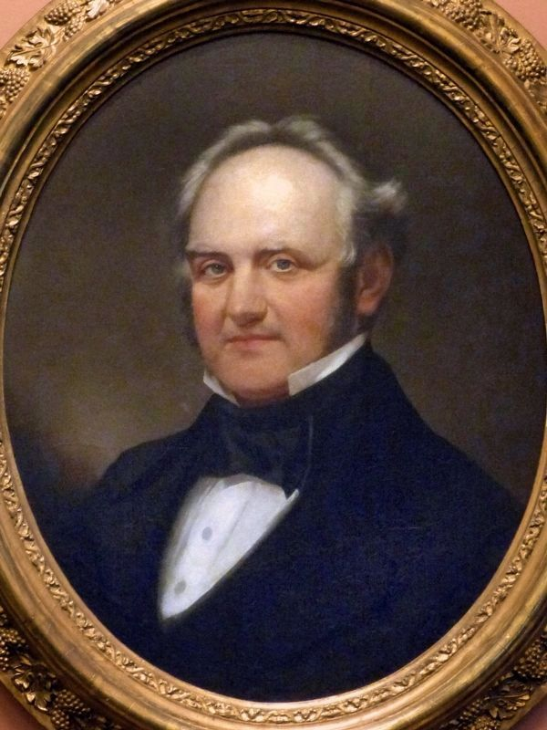 George Peabody (1795-1869) image. Click for full size.