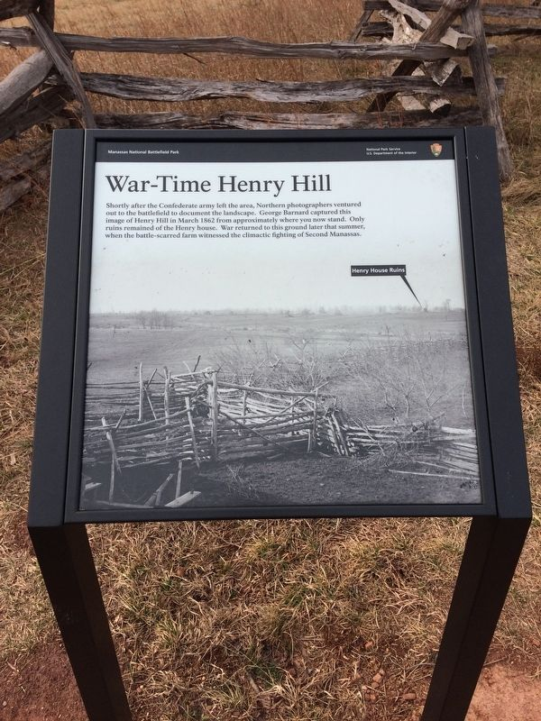 War-Time Henry Hill Marker image. Click for full size.