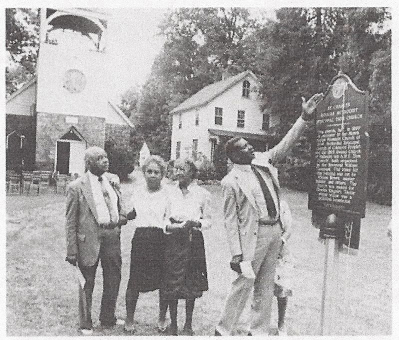 St. Charles A.M.E. Zion Church Marker image. Click for full size.