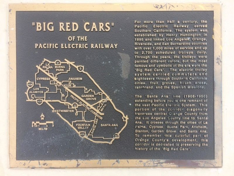 """Big Red Cars"" Marker image. Click for full size."