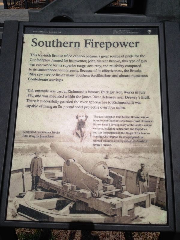 Southern Firepower Marker image. Click for full size.
