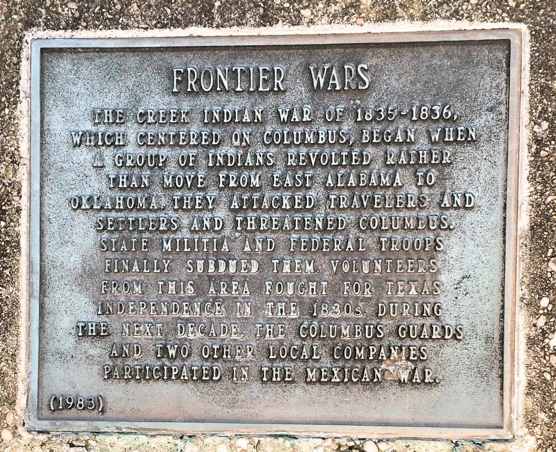 Frontier Wars Marker image. Click for full size.