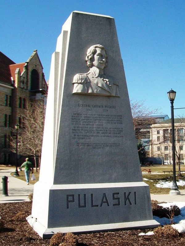 General Casimir Pulaski Monument image. Click for full size.