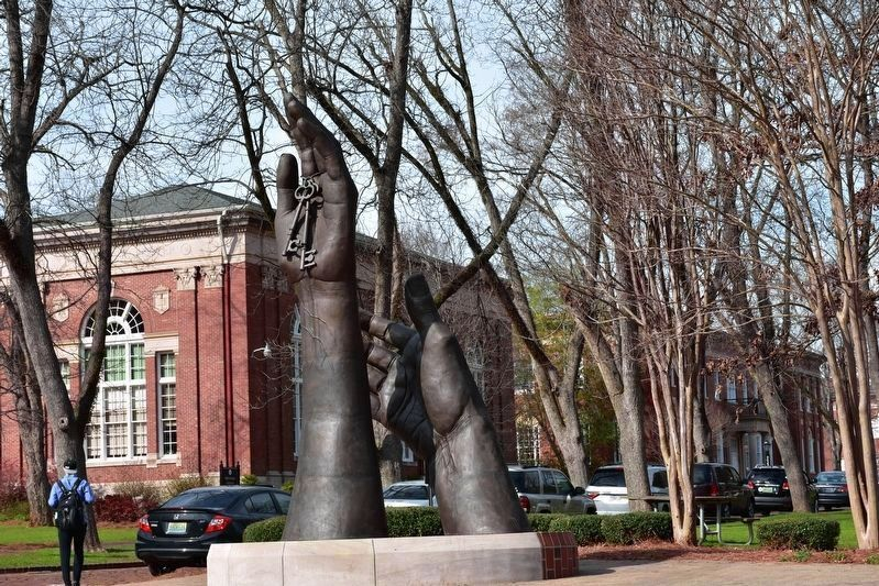 The Becoming Sculpture @ University Of Montevallo image. Click for full size.
