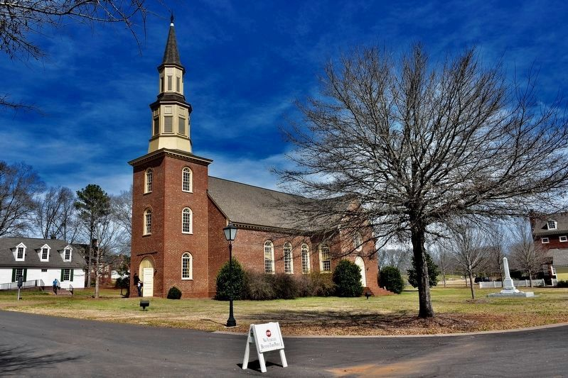 The Lucille Ryals Thompson Colonial Chapel/One Nation Under God Marker image. Click for full size.